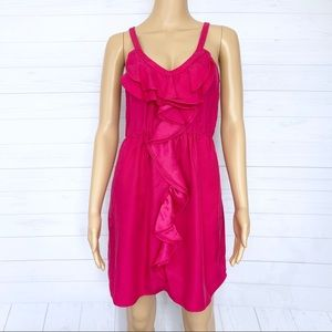 Rebecca Taylor Silk Waterfall Cami Dress